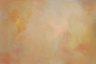Simple Abstract Art Painting - Enjoy The Little Things Autumn Abstract Painting by Jai Johnson