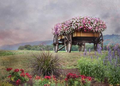 Digital Art - Enjoy The Ride by Lori Deiter