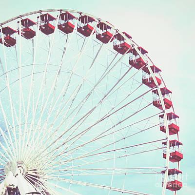 Ferris Wheel Photograph - Enjoy The Ride by Misty Diller
