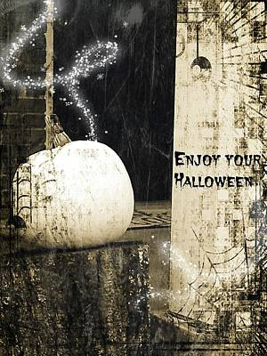 Photograph - Enjoy Your Halloween by Kathy Barney