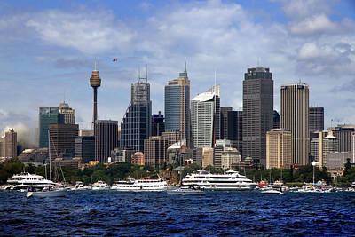 Photograph - Enjoying Australian Day On The Water by Miroslava Jurcik