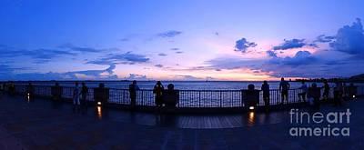 Photograph - Enjoying The Beautiful Evening Sky by Yali Shi