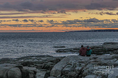 Southern Maine Photograph - Enjoying The Beauty Of Maine by Joe Faragalli