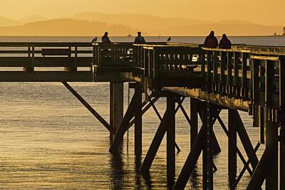 Photograph - Enjoying The Morning by Inge Riis McDonald