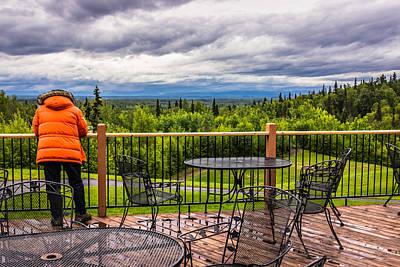 Photograph - Enjoying The View - Hdr by David Warrington
