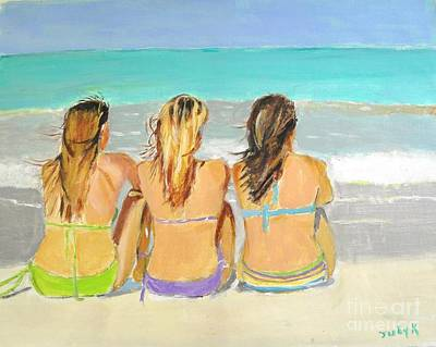 Painting - Enjoying The View by Judy Kay