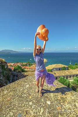 Photograph - Enjoying Vacation In Peloponnese by Benny Marty