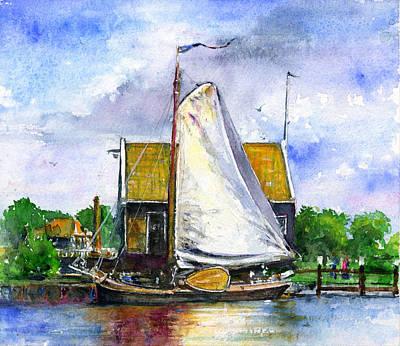 Painting - Zuiderzee Museum Netherlands by John D Benson