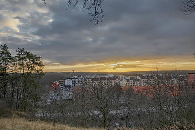 Photograph - Enkoping From Church 1  by Leif Sohlman