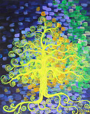 Painting - Enlighten by Stefan Duncan