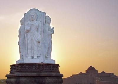 Photograph - Enlightened Buddha  by Atullya N Srivastava