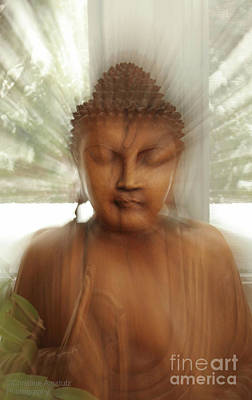 Photograph - Enlightened Buddha by Christine Amstutz