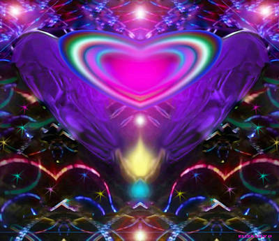 Enlightened Heart Art Print by Eliza Lily G