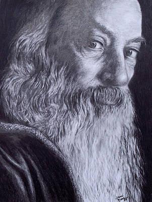 Enlightened Master Art Print by Sherri Menozzi