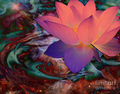 Digital Art - Enlightenment by Laurel D Rund