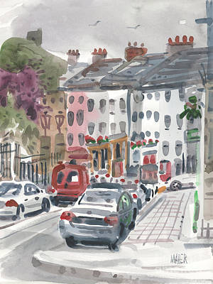 Painting - Enniscorthy by Donald Maier