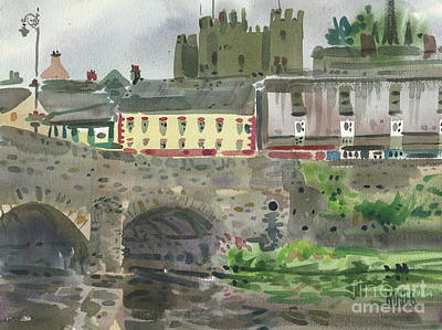 Painting - Enniscorthy Morning by Donald Maier