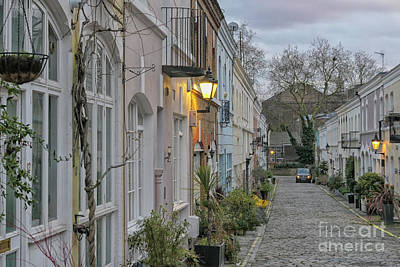 Photograph - Ennismore Gardens Mews, London by Patricia Hofmeester