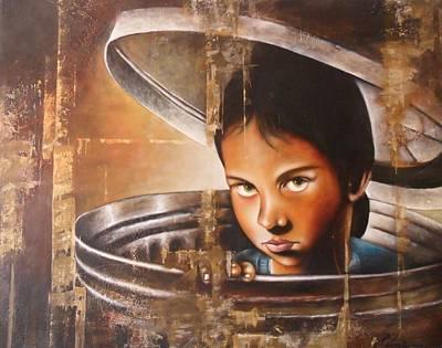Enough - Basta Original by Santiago Polvos