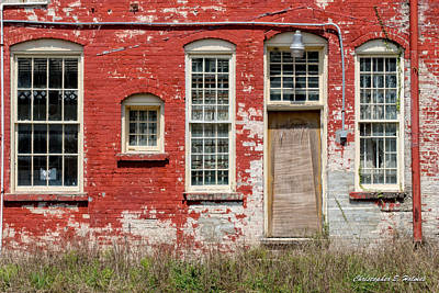 Art Print featuring the photograph Enough Windows by Christopher Holmes