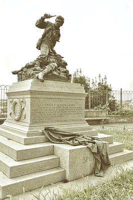Photograph - Enrico E Giovanni Cairoli Monument by JAMART Photography