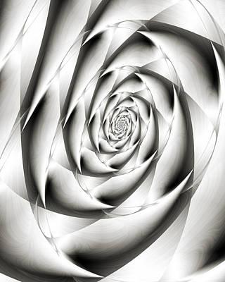 Spiral Digital Art - Ensnare by Kevin Trow