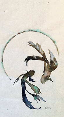 Painting - Enso Beta by Casey Shannon