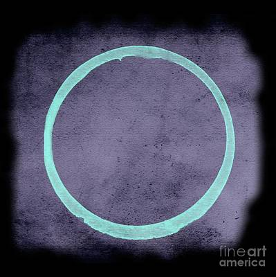 Painting - Enso Created With Chalk Paints by Renee Trenholm