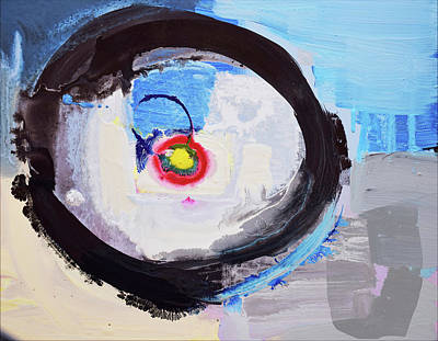 Painting - Enso Of Intimate Relationship by Amara Dacer