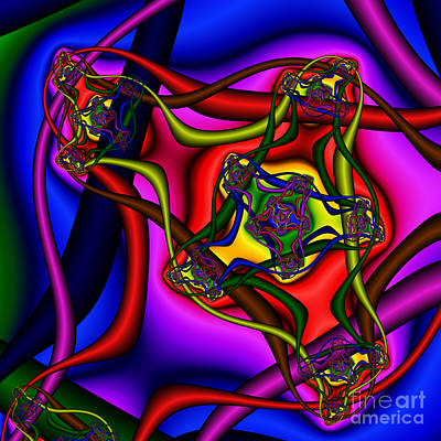 Entangled 114 Art Print by Rolf Bertram