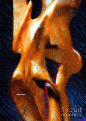 Digital Art - Entanglement by Rafael Salazar
