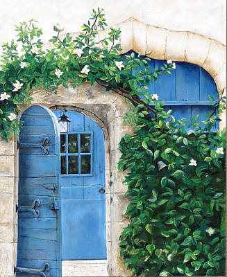 Painting - Enter My Garden by Denise H Cooperman