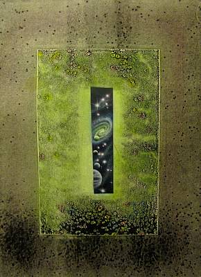 Painting - Enter by Sam Del Russi