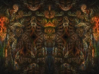 Enter Art Print by Talasan Nicholson