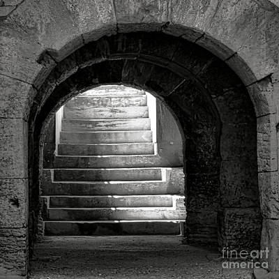 Photograph - Enter The Arena by Olivier Le Queinec