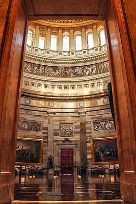 Photograph - Enter The Rotunda by Mitch Cat