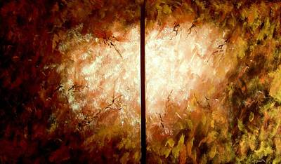 The Void Painting - Enter-the Unknown by Bertha Hamilton