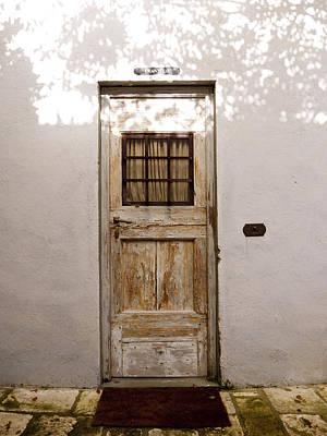 Greve In Chianti Photograph - Enter Through The Shadows by Rae Tucker