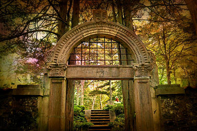 Photograph - Enter  Thy Garden by Diana Angstadt