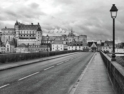 Photograph - Entering Amboise France by Dave Mills