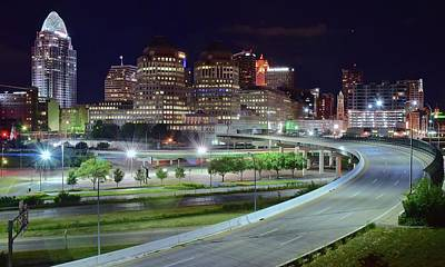 Photograph - Entering Cincinnati by Frozen in Time Fine Art Photography