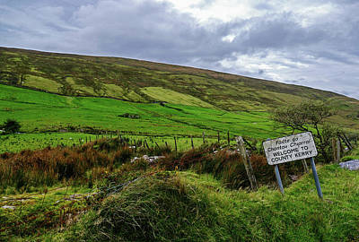 Photograph - Entering County Kerry by Bill Jordan