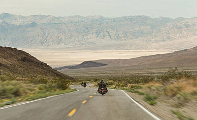 Photograph - Entering Death Valley by Dana Sohr
