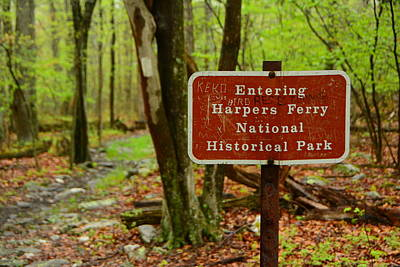 Photograph - Entering Harpers Ferry National Historical Park by Raymond Salani III