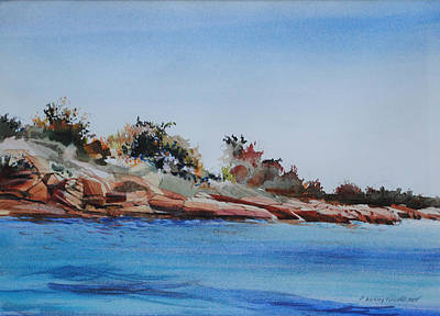 Painting - Entering Hingham Harbor 2 by P Anthony Visco