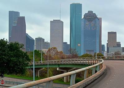 Photograph - Entering Houston by Frozen in Time Fine Art Photography