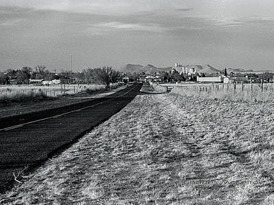 Photograph - Entering Marathon Texas by Charles McKelroy