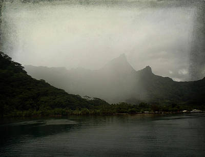 Photograph - Entering Moorea by Kathryn McBride
