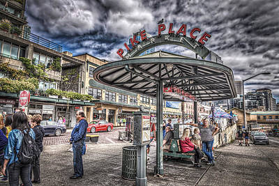 Photograph - Entering Pike Place by Spencer McDonald