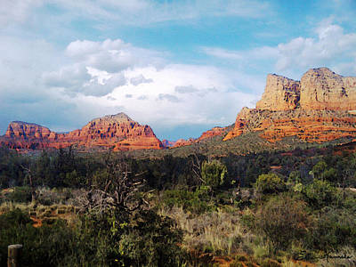 Painting - Entering Sedona by Ellen Henneke